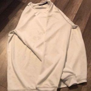 White Zelos Long Sleeve Shirt